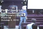 Sermon – Doug Lay – 10-5-19