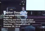 Sermon – Doug Lay – 10-26-19