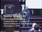 Sermon – Doug Lay – 11-2-19