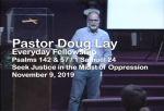 Sermon – Doug Lay – 11-9-19