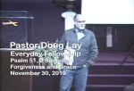 Sermon – Doug Lay – 11-30-19