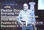 Sermon – Doug Lay – 12-7-19