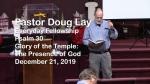 Sermon – Doug Lay – 12-21-19