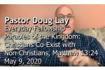 Sermon – Doug Lay – 5-9-20