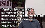 Sermon – Doug Lay – 8-8-20