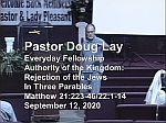 Sermon – Doug Lay – 9-12-20