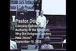Sermon – Doug Lay – 2-19-20
