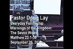 Sermon – Doug Lay – 9-26-20