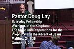 Sermon – Doug Lay – 10-3-20